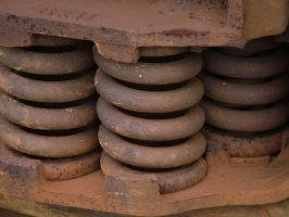 train yard 11 - springs by JensStockCollection