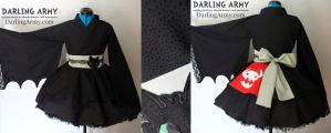 Toothless - HtTYD - Dragon Cosplay Kimono Dress by DarlingArmy