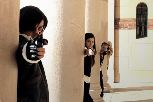 Resident Evil 6: Aim and Fire by PhantressSaphira