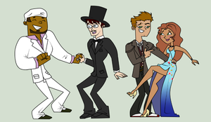 Commission: Prom Dates 2 by TotalDramaWTF