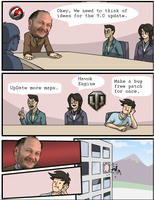 Meanwhile at Wargaming (9.0 Edition) by Enigmaticmuffin