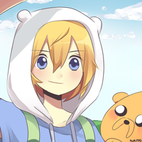Finn and Jake by natto-uzumaki