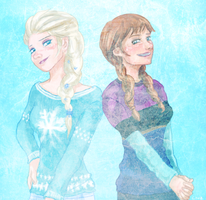 Frozen - Sweaters by CodeNameZimbabwe