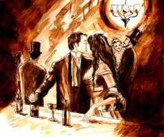 The Harlot's Kiss - Bel Ami by LittleSeaSparrow