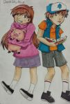 The Mystery Twins by glitchstrip