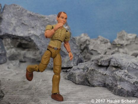 Portraid figure 3D printed with durable resin C by hauke3000