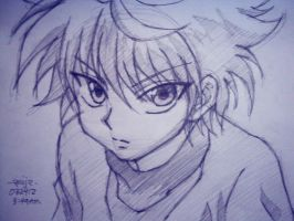 zoldyck killua by reijr