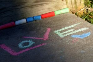Love Chalk :re-upload: by resplendentgalaxies