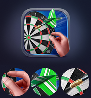 Dart Game iOS Icon by Icondesire