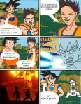 Goku vs Goku by 7merengue