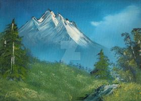 Mountain view by doughboy2169
