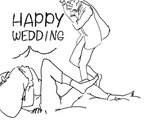 Happy wedding by wandarer3