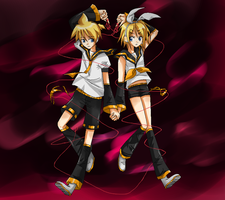 Len and Rin InterTWINEd by SomeJaneDoe
