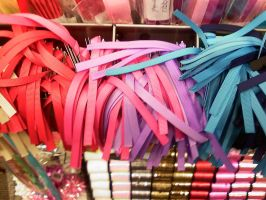 Coloured Ribbons by manicstreetpreacher