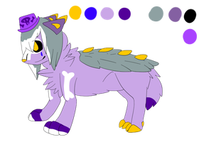 Contest character entry by Caution-Koneko