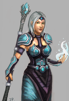 Frost Mage by Minionslayer