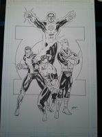 Green Lanterns commission by WestStudio3