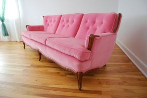 Long Pink couch 1 by Yukkabelle