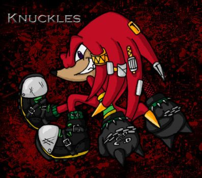 Punked out Knuckles by BaneKamisama