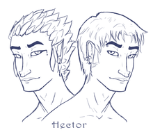 Hector by MissThunderkin