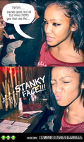 Stank Face by poyzonivey