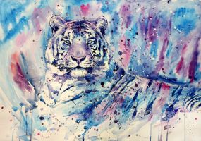 tiger blue by ElenaShved