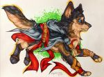Assassin's Wolf - AT by Galaxiesis