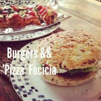 Burgers and Focaccia by DistortedSmile