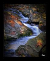 Darkened Cascade by jnati