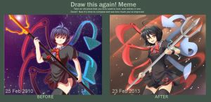 Draw again Nue!! by Rouzille