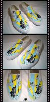 Sky Beats - Custom Vans by sheld0n
