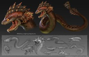 the sea serpent by Detkef