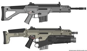 upgraded g36c by ZoMb1e-M4N