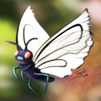 Butterfree by GadyBICS