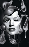Marylin Monroe Signature by Loupu