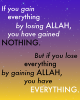 ALLAH is Everything by Nahmala