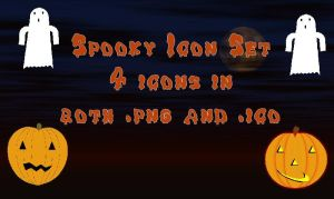 Spooky Icon set by Wild-Card-CR