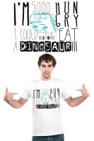 Dinosaur Hunger by PKLdesigner