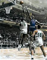 Bill Russell and Wilt Chamberlin by coachp42