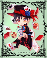 Mad Hatter Yuuri by Sui-sen