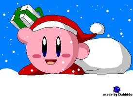 NO 1. SANTA KIRBY by dabbido
