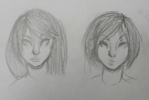 face practice by WENDlGO