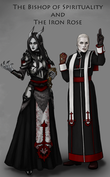 The Bishop of Spirituality and the Iron Rose by Timelady-Saxon