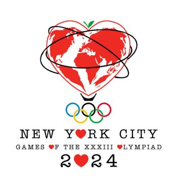 NYC 2024 Olympics Logo by LordDavid04