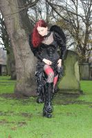 Stomping angel by Amarie-Tinuviel
