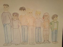 The Seven! by MissMartian4ever