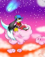 Klonoa: Night Sky by SorenTheHedgehog