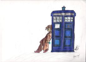 The 10th Doctor by autobotchari