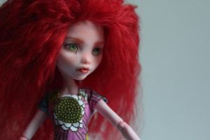 Red Draculaura by FeralWorks