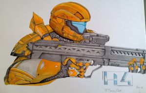 Halo - Macca Chief by Macca-Chief